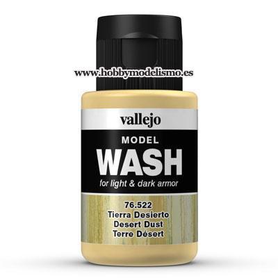 MODEL WASH: TIERRA DESIERTO (35 ml) - Vallejo 76522