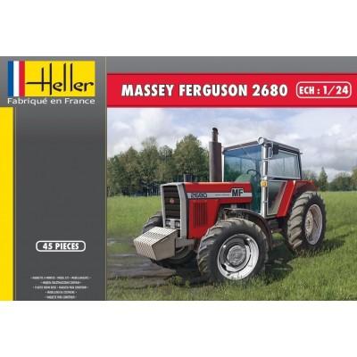 TRACTOR MASSEY FERGUSON 2680 1/24 - Heller 81402