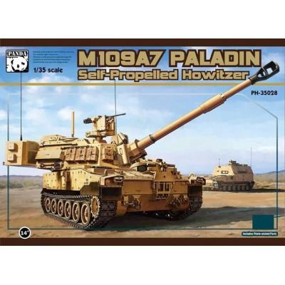 OBUS AUTOPROPULSADO M-109 A7 PALADIN 1/35 - Panda Hobby PH35028