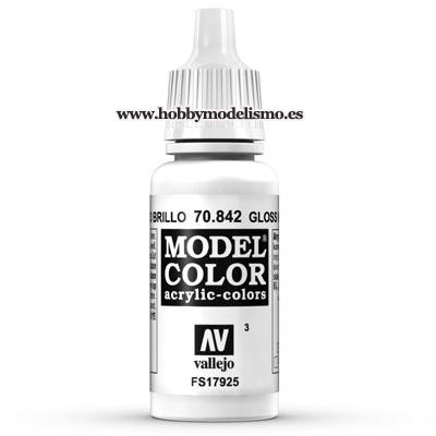 PINTURA ACRILICA BLANCO BRILLO (17 ml) Nº3 FS17925