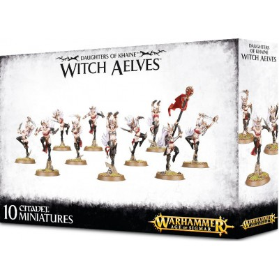 DAUGHTERS OF KHAINE WITCH EAELVES - GAMES WORKSHOP 85-10