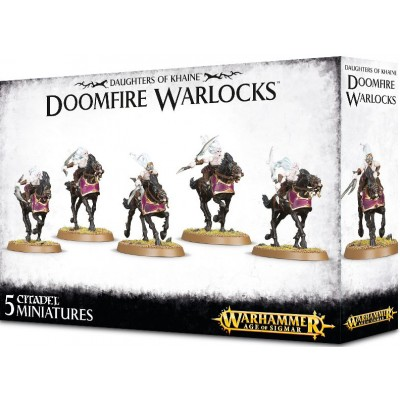 DAUGHTERS OF KHAINE DOOMFIRE WARLOCKS - GAMES WORKSHOP 85-14