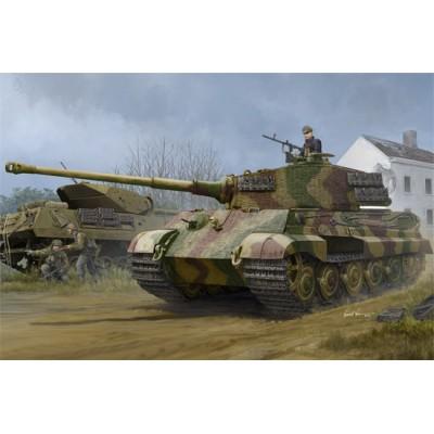 CARRO DE COMBATE Sd. Kfz. 182 KINGTIGER (Henschel) ZIMMERIT 1/35 - Hobbyboss 84531
