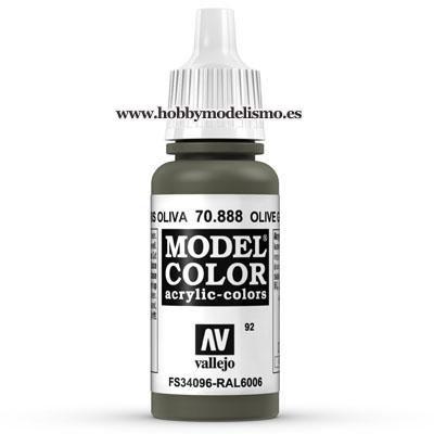 PINTURA ACRILICA GRIS OLIVA (17 ml) Nº92 RAL6006