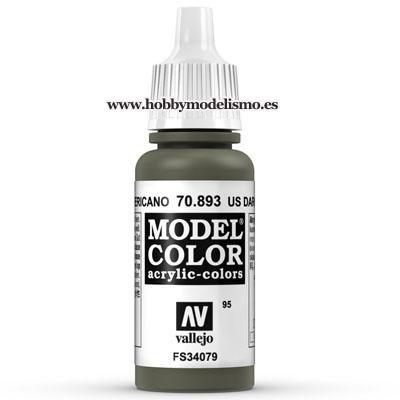 PINTURA ACRILICA VERDE AMERICANO (17 ml) Nº95 FS34079