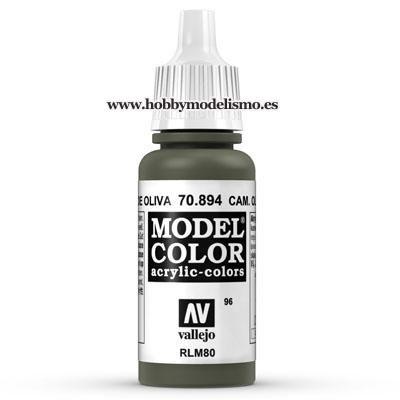 PINTURA ACRILICA VERDE RUSO (17 ml) Nº96 FS34096 RLM80 PANZER SERIES