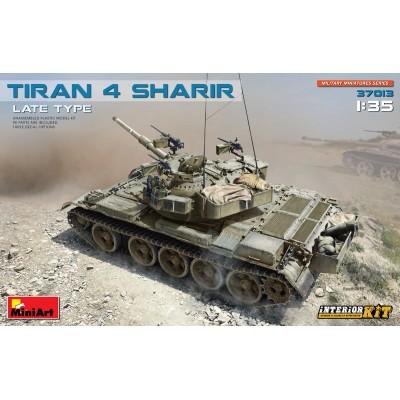 CARRO DE COMBATE TIRAN-4 -Sharir-late- (Interior Kit) 1/35 - MiniArt 37013