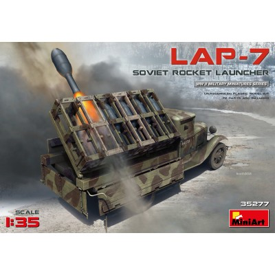 CAMION ZIS & LANZACOHETES LAP-7 1/35 - MiniArt 35277