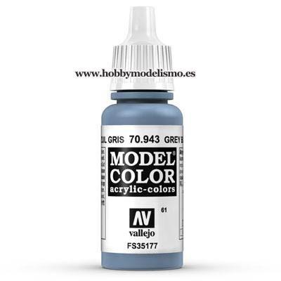PINTURA ACRILICA AZUL GRIS (17 ml) Nº61