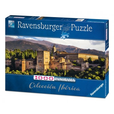 PUZZLE Panorama 1000 Pzas LA ALHAMBRA, GRANADA - Ravensburger 15073