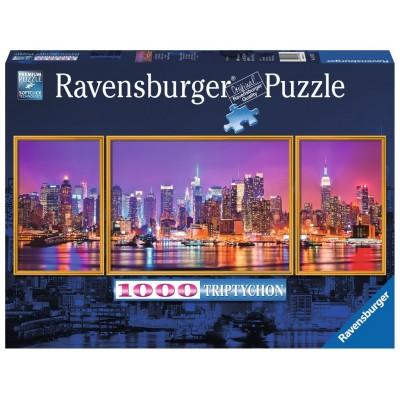 PUZZLE Triptico 1000 Pzas NEW YORK - Ravensburger 19792