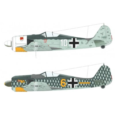FOCKE WULF Fw-190 A-4 1/48 - EDUARD 84121
