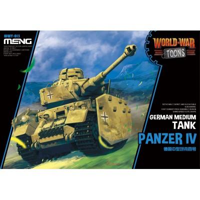CARRO DE COMBATE PANZER IV -TOONS- Meng Model WWT-013