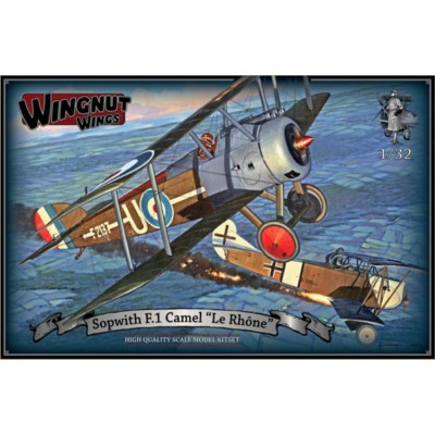 SOPWITH F.1 CAMEL -Le Rhone- 1/32 - Wingnut Wings 32071