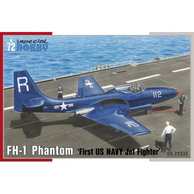 McDONNELL FH-1 Phantom -First US NAVY Jet Fighter- 1/72 - Special Hobby SH72332