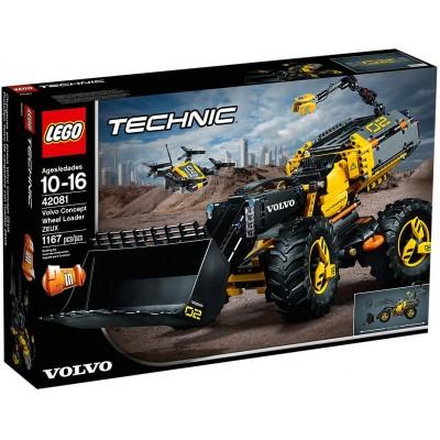 TECHNIC VOLVO CARGADORA CON RUEDAS ZEUX - LEGO 42081