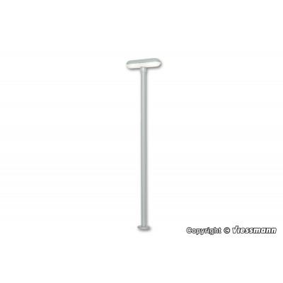 LAMPARA ESTACION 2 LUCES LEDS ESCALA H0 (ALT: 70mm) VIESSMANN 6364
