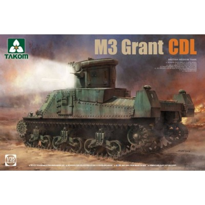 CARRO DE COMBATE M-3 LEE CDL 1/35 - TAKOM 2116