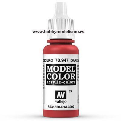 ROJO BERMELLON (17 ml) Nº29 FS31350 RAL3000