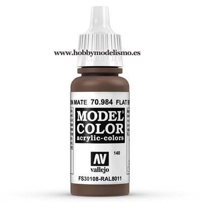 PINTURA ACRILICA MARRON MATE (17 ml) Nº140 FS30108 RAL8011