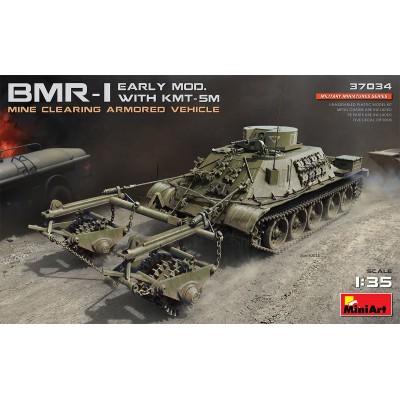 CARRO DESMINADOR BRM-1 & KMT-5M 1/35 - MiniArt 37034