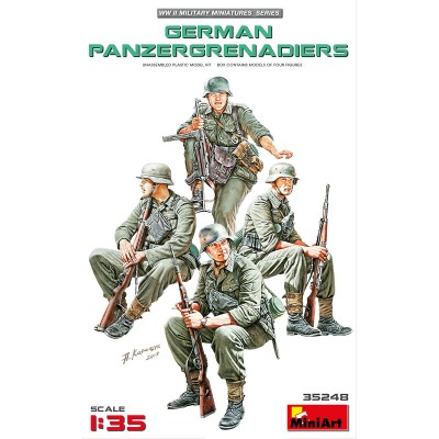 PANZERGRANADEROS ALEMANES 1/35 - MiniArt 35248