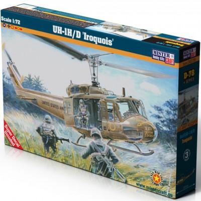 BELL UH-1 H/D IROQUOIS CON CALCAS ESPAÑOLAS -escala 1/72- MISTER CRAFT 040789