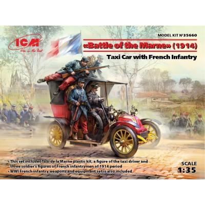 SET BATALLA DEL MARNE 1914 - 1/35 - ICM 35660