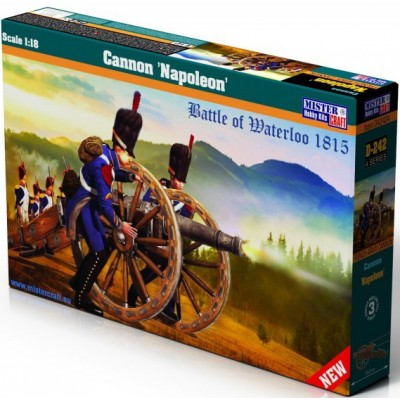 CAÑON NAPOLEON 1815 - ESCALA 1/18 - MISTER CRAFT HOBBY KITS