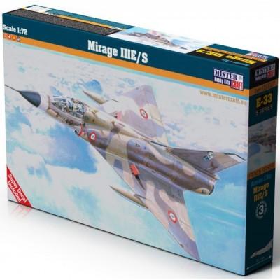 DASSAULT MIRAGE III E/ S C/ ESP - 1/72 - Mistercraft Hobby Kits 050337