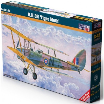 DE HAVILLAND D.H.82 TIGER MOTH - ESCALA 1/48 - MISTER CRAFT HOBBY KITS 050429