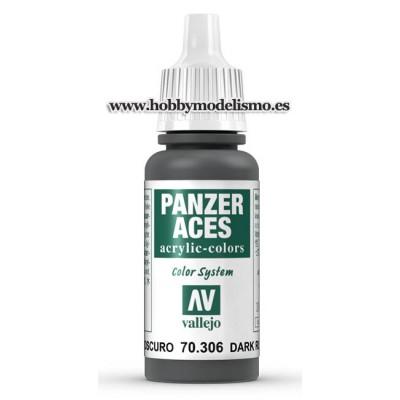 PINTURA ACRILICA CAUCHO OSCURO (17 ml) PANZER ACES