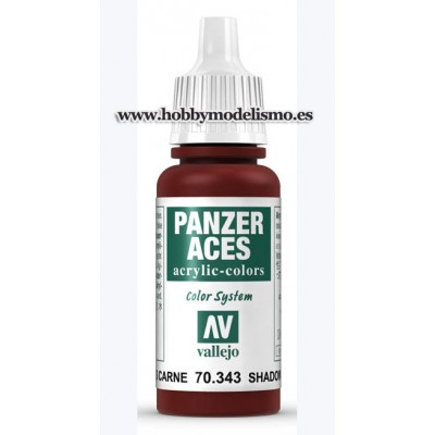 SOMBRAS CARNE (17 ml) Panzer Aces VALLEJO 70343