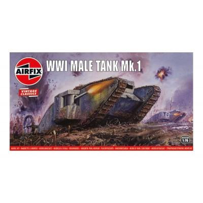 TANQUE MK-IV Male 1/76 -Vintage Classics- Airfix A01315V