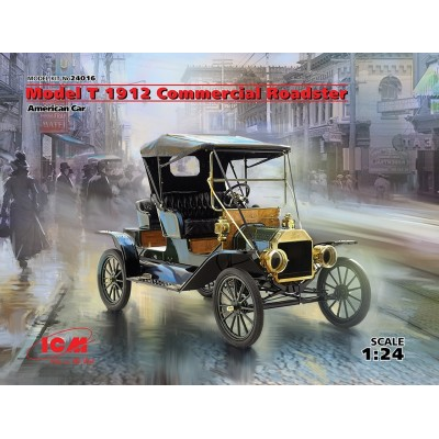 FORD Mod. T 1912 Comercial Roadster 1/24 - ICM 24016