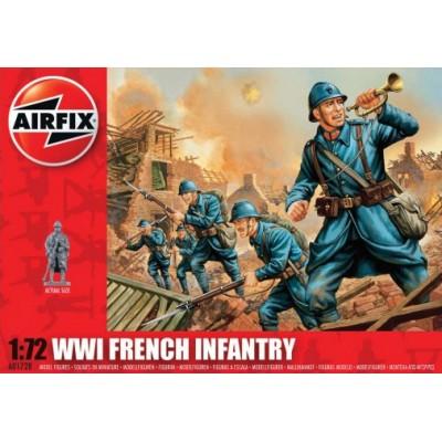 INFANTERIA FRANCESA 1ª G. M. (48 piezas) 1/72 - Airfix A01728