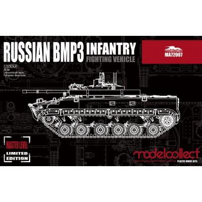 VEHICULO DE COMBATE DE INFANTERIA BMP-3 1/72 - Modelcollect MA72007