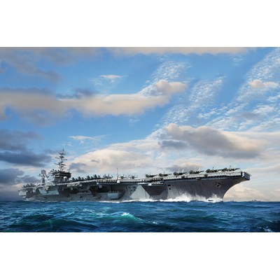 PORTAAVIONES U.S.S. CONSTELLATION CV-64 1/350 - Trumpeter 06715