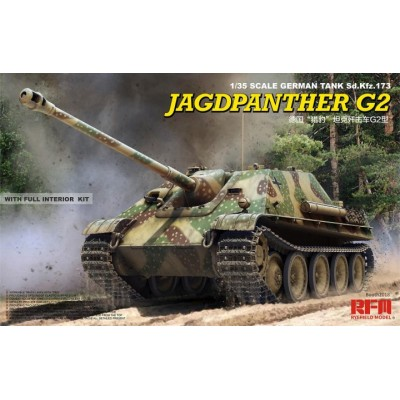 CAZA CARROS Sd.Kfz. 173 JagdPanther Ausf.G2 (Interiores) 1/35 - Rye Field Model RM5022