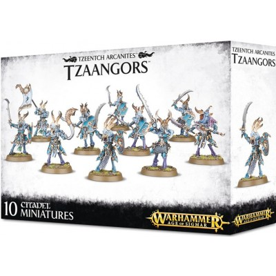 TZEENTCH ARCANITES TZAANGORS - GAMES WORKSHOP 83-75