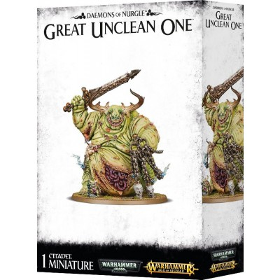 DAEMONS OF NURGLE GREAT UNCLEAN ONE - GAMES WORKSHOP 83-41