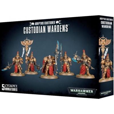 Adeptus Custodes: CUSTODIAN WARDENS - Games Worshop 01-11