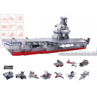 ARMY 10 EN 1 - PORTAAVIONES - 361 PZS - SLUBAN B0662