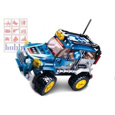 CAR CLUB: OFFCAR BLUE CAR - 146 Pzs -SLUBAN B0663C