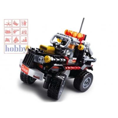 CAR CLUB: OFFROAD BLACK - 158 Pzs -SLUBAN B0663D