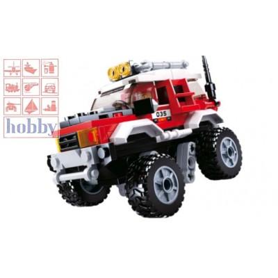 CAR CLUB: OFFCAR RED CAR - 145 Pzs -SLUBAN B0663B