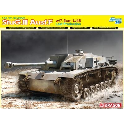 CAÑON DE ASALTO Sd.Kfz. 142/1 Ausf. F STUG III F 1/35 - Dragon 6756