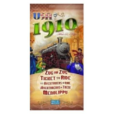 AVENTUREROS AL TREN USA 1910