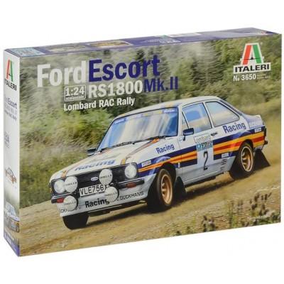 FORD ESCORT RS1800 MK.II -Lombard RAC Rally- 1/24 - Italeri 3650