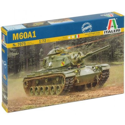 CARRO DE COMBATE M-60 A1 PATTON 1/72 - Italeri 7075